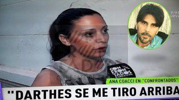 Anita Coacci sobre Juan Darthés: No pude reaccionar