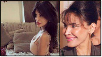 Charlotte Caniggia está tan deformada por las cirugías que ahora la comparan con Amira Yoma