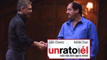 Suar y Chávez anuncian su gira teatral y festejan otra semana en el podio teatral