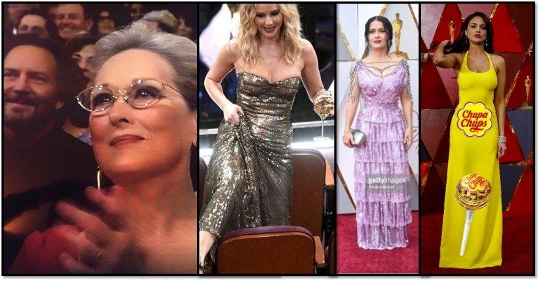 Divertidos memes, tweets y looks sobre la entrega de los Oscar
