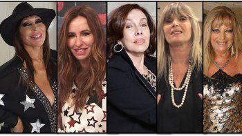El panel de Moria Casán: Analía Franchín