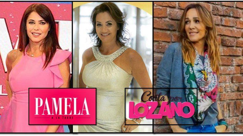Nancy Pazos fue a lo de Pamela David mientras define si estará en el panel de Vero Lozano