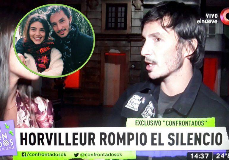 Emmanuel Horvilleur, ex de Calu furioso con Darthés : Si hubiera sido mi novia en ese momento voy y se pudre el rancho