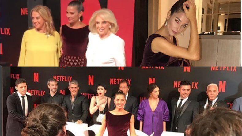 Con la presencia de Mirtha, se hizo el lanzamiento de Edha, la serie protagonizada por Juana Viale