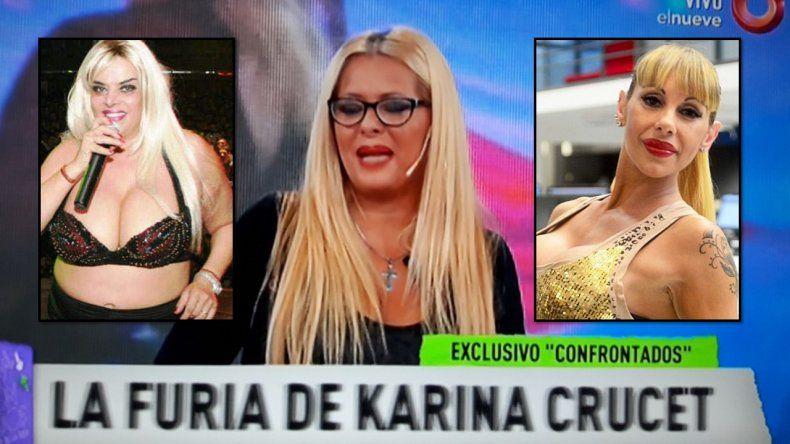 La hija de Lía Crucet salió al cruce del tema de Mónica Farro: se cuelgan de mi mamá