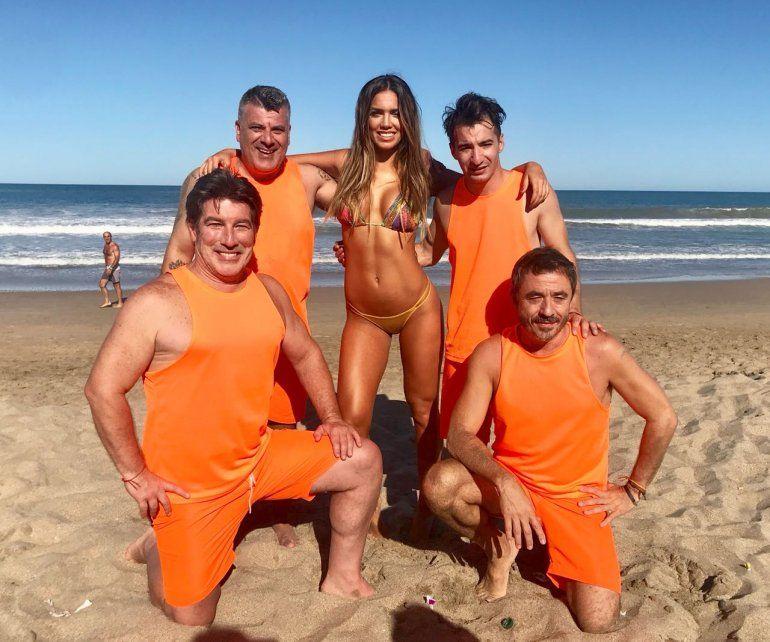 Empezó la flmación de Bañeros 5, con Pachu Peña, Pablo Granados, Pichu, Naza Mottola y el debut de Rocío Robles