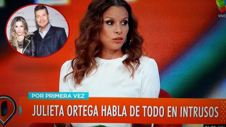 Julieta Ortega elogió a Guillermina Valdés pero hizo silencio cuando le consultaron por Tinelli