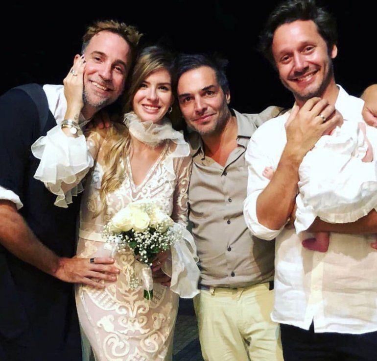 Se casaron La China Suárez y Vicuña en una fiesta privada en Carmelo, Uruguay