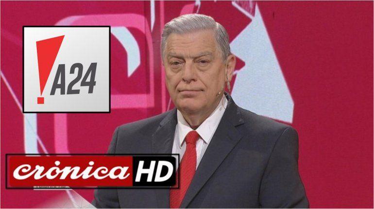 Santo Biasatti se aleja de Crónica HD y ya negocia con A24