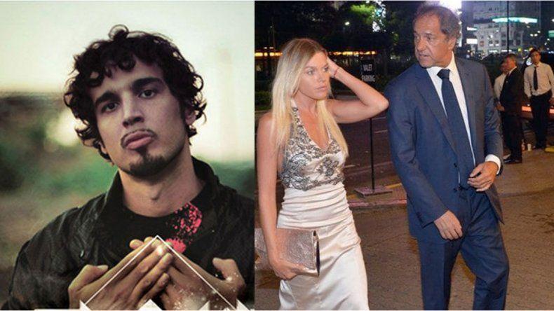 La canción que anticipó un escándalo: Dante Spinetta avisó del romance clandestino de Scioli y Berger