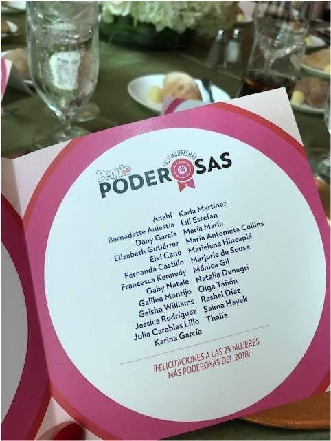 Natalia Denegri homenajeada por People en Español, junto a otras famosas, por ser una de las 25 mujeres más poderosas de América