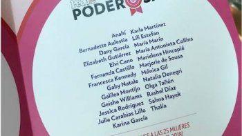Natalia Denegri homenajeada por People por ser una de las 25 mujeres más poderosas
