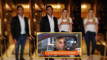 Guerra declarada: estallaron en las redes Viciconte y Nicole por Cubero y las hijas