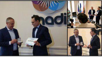 Marcelo Polino ya es el nuevo embajador del Inadi