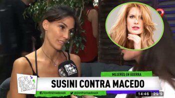 María Susini contó la verdad detrás de la frase de Facundo Arana sobre Macedo: Ellos quisieron formar una familia y no pudieron