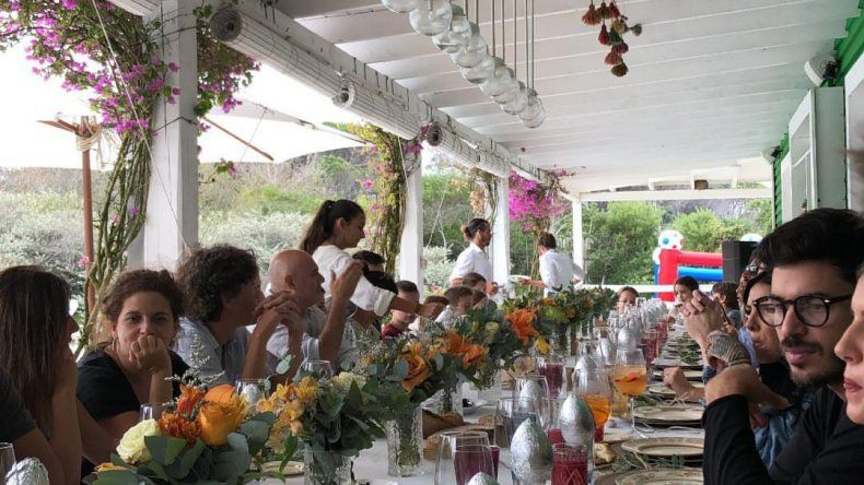 Marcelo Tinelli celebró su cumpleaños 58 rodeado de familia y amigos