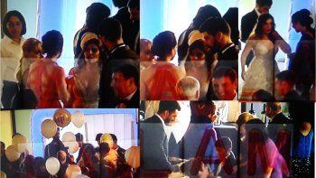 Aparecieron las imágenes del casamiento de Dalma Maradona: los invitados