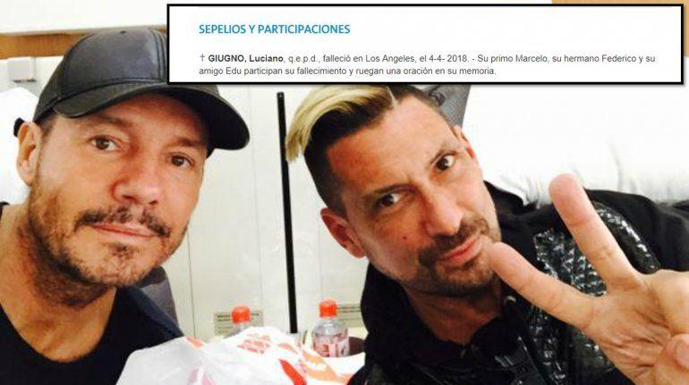 Se publicó un aviso fúnebre de El Tirri en el diario La nación: lo mataron con condolencias hasta de Tinelli