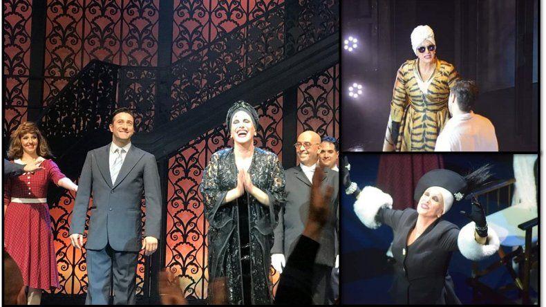 Se estrenó Sunset Bulevard: otra vez Broadway en Buenos Aires con una puesta de lujo y muchos famosos en el estreno