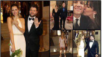 Las fotos del casamiento de Guido Kazcka que subieron los invitados a la fiesta