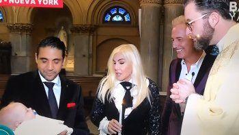 Susana y Marley bautizaron a Mirko en Nueva York con picos de 15.2 de rating