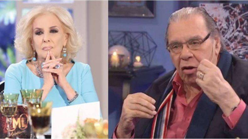 Enrique Pinti indignado con Legrand: El tema es deplorable, Mirtha nunca me llamó, esperaba un gesto de ella