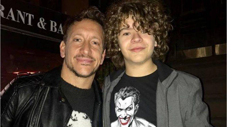 Nico Vázquez se encontró en Nueva York con uno de los protagonistas de Stranger Things