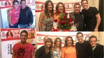 lizy tagliani estreno espectaculo rodeada de amigos famosos