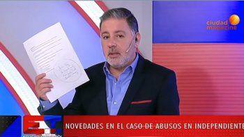 Doman reveló los nombres del caso Independiente