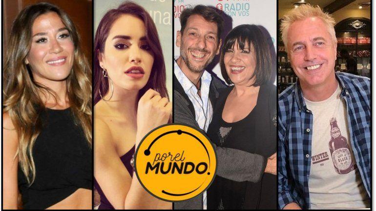 Jimena Barón, Lali Espósito, Vernaci y Tortonese, los compañeros de viaje de Marley