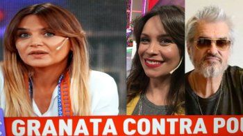 Granata va más a fondo con la supuesta relación consensuada de Pettinato y Pouso: se escuchaba en camarines..