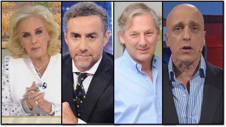 Mirtha Legrand dolida con Luis Majul y Marcelo Longobardi, y Carlos Pagni no le atiende el teléfono