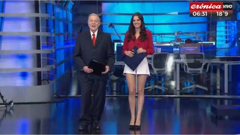 Después de dar el portazo en El Trece, así fue el debut de Santo Biasatti en Crónica TV: mirá el video