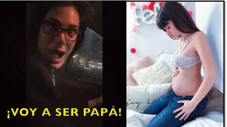 Crease o no Felipe Pettinato se convertirá en papá y lo anunció a los gritos en un video