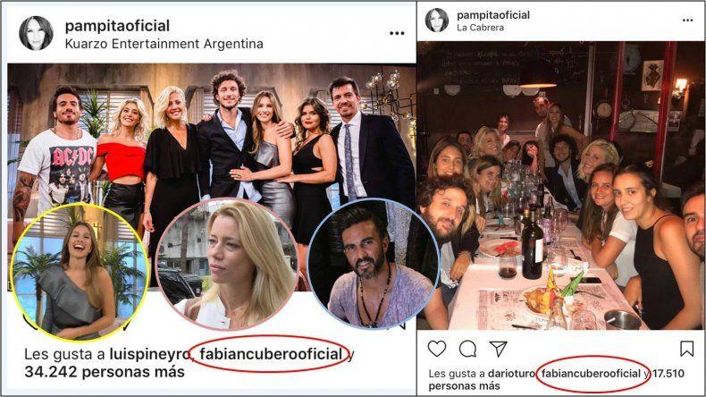 Guerra declarada: Cubero le pone likes a las fotos de Pampita para que Nicole reviente