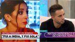 Cinthia Fernández le respondió a Defederico: Callo muchas cosas por amor