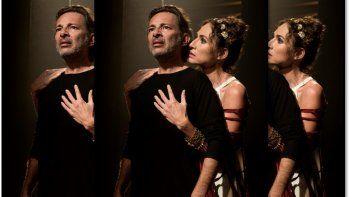 Fabián Vena y Natalia Lobo vuelven al teatro con Edipo Rey