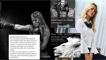 nicole y viciconte se mandan mensajes de furia en instagram: mujer segura no compite