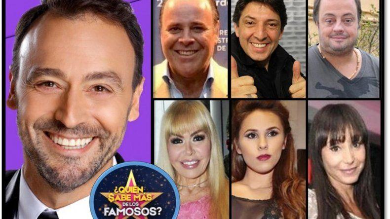 Quién sabe más de los famosos: Carna, Gonal, Cabito, Adriana Aguirre, Villarruel y Barby Silenzi