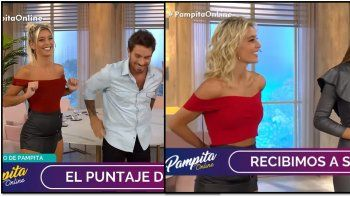 Sol Pérez la pasa mal en Pampita online: la vistieron dos veces igual en la semana del estreno