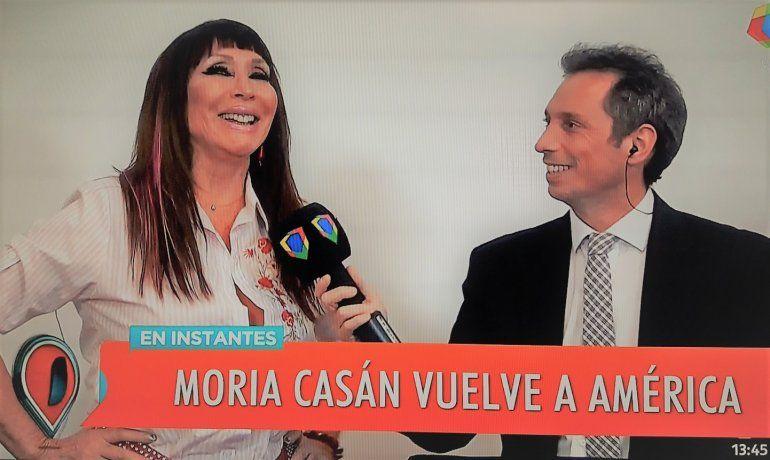 Moria firmó contrato y dio detalles de su programa: ¿Quiénes la acompañan y qué condición especial les puso a sus panelistas?