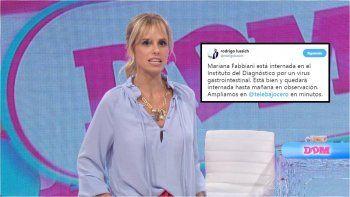 Sorpresiva internación de Mariana Fabbiani en el Instituto del Diagnóstico