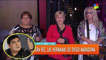 Aparecieron las hermanas de Maradona y destrozaron a Claudia