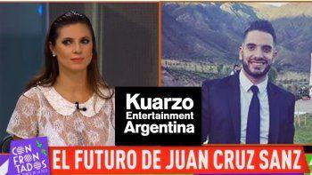 Juan Cruz Sanz salió encapuchado de una reunión por su futuro laboral y habló su ex