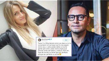 Mica Viciconte arremetió contra Fabián Medina Flores por tratarla de gorda: Para ser tapa de revista no tenes que ser perfecta