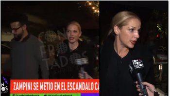 Carina Zampini apareció con nuevo novio y habló de las denuncias contra Darthés: Le creo a Calu