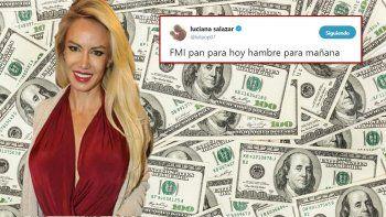 Luciana Salazar tocó fondo (monetario): sus insólitos tweets sobre los anuncios económicos