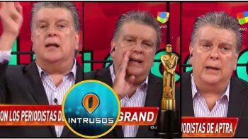 Ventura estalló contra Intrusos y sus compañeros por las críticas al Martín Fierro