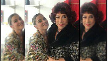 Sofía Pachano emocionada al ver a su papá sobre el escenario después del difícil momento de salud