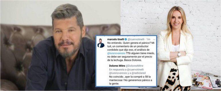 Cruce de tweets entre Tinelli y una periodista de La Nación por el precio de la lechuga: ¿Qué genera el pánico?